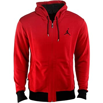 watch great look wholesale online Nike Herren Jacke Jordan 23/7 Fleece Hoody, Schwarz, L ...