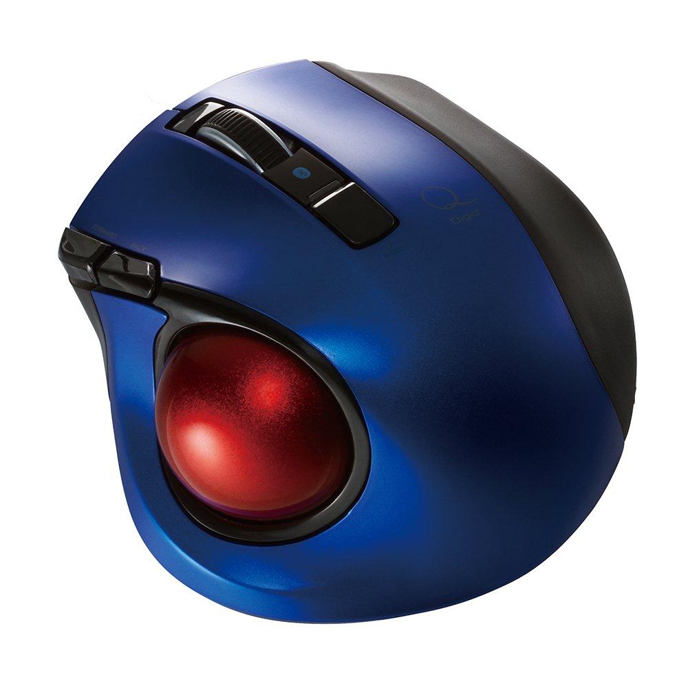 Nakabayashi Co,Ltd. Digio2 Bluetooth Wireless Trackball for Window PC and Mac and Android (Blue) by Nakabayashi