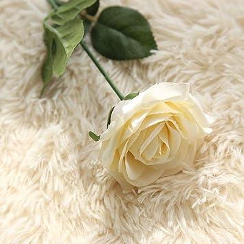 Mitlfuny Unechte Blumen Kunstliche Gefalschte Blumen Rosen Floral