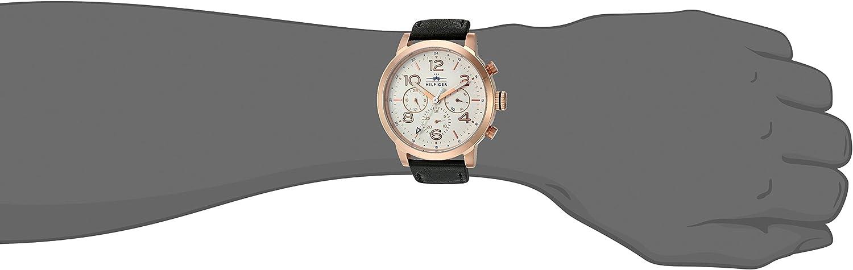 Tommy Hilfiger Men s 1791236 Jake Analog Display Japanese Quartz Black Watch