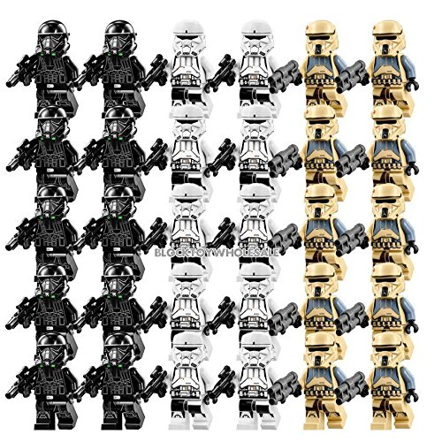 gonggamtop 30 New Storm Trooper Rogue One Star Wars MINIFIGURE Building Block Toy Kids Gift (Star Wars Dropship)