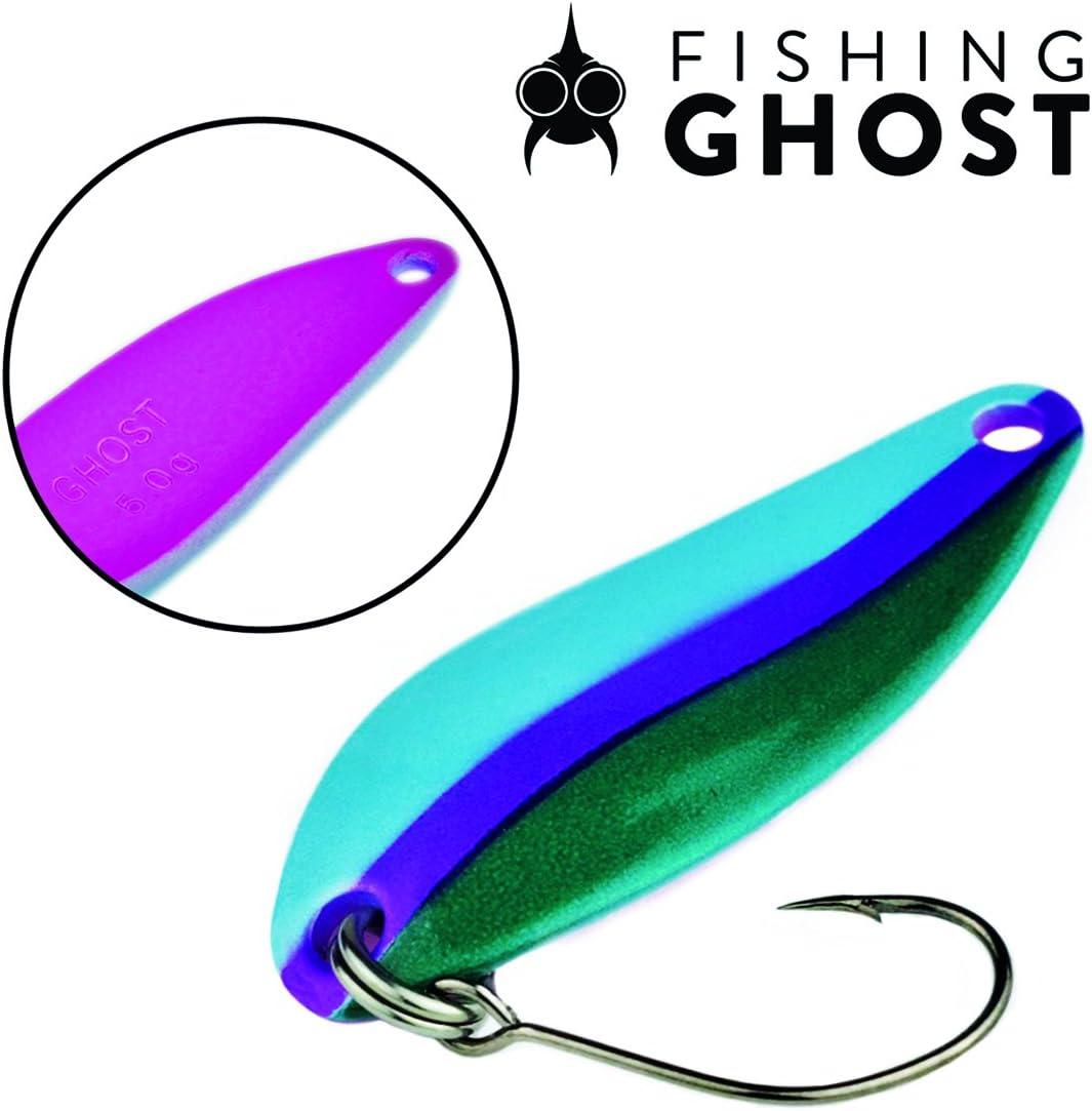 FISHINGGHOST® Cuchara de Trucha - Casper, Peso: 5 Gramos, Longitud ...