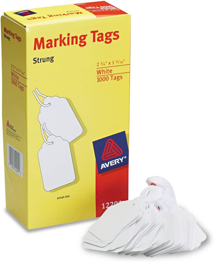 SOLD TAGS WITH ATTACHED WIRES 250 Tags per Box