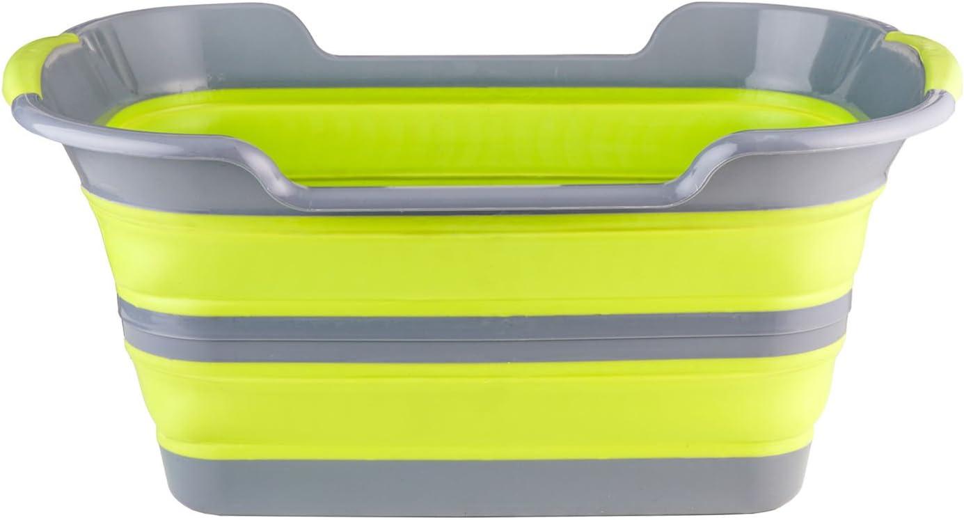 BRAMBLE! Premium Cesto de Ropa Plegable, 60cm x 40cm x 27.5cm - Gran Capacidad, Ahorra Espacio, Robusto - Ligero y Compacto Cesto Colada Plegable - Fácil de Plegar y Expandir