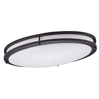 "Cloudy Bay Flush Mount 24"" Ceiling Light"