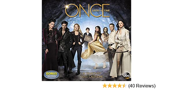 Disney Once Upon A Time Wall Calendar (2015): Day Dream