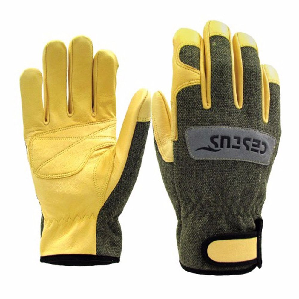 Cestus Premium Argon TIG/MIG Heat-Resistant Welding Gloves L Size Ideal for welding and heat applications, plus all general purpose applications requiring heat,flame or spark protection.