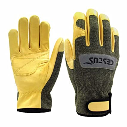 Cestus Premium Argon TIG/MIG Heat-Resistant Welding Gloves L Size Ideal for welding