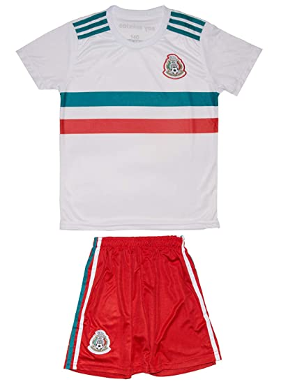 8b05bd9cd5d Amazon.com   Soccer Youth Jersey Set ○ Mexico ○ 2018 Away Edition ...