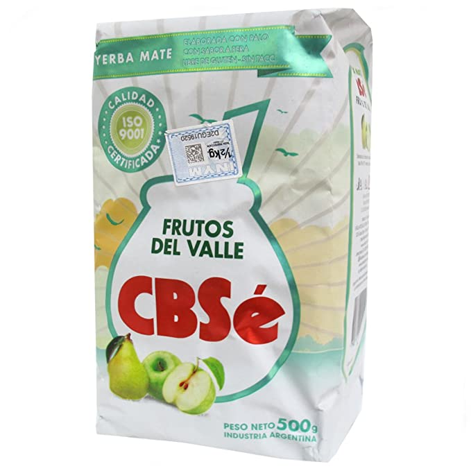 Yerba mate CbSe Frutos del Valle 500g: Amazon.es ...