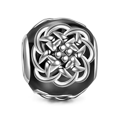 NINAQUEEN - Celtic Tattoos - 925 Sterling Silver Charms Nickel-free XKd4T0P