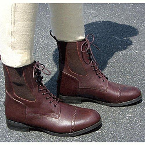 Exselle Lace Paddock Boots Voor Kinderen Bruin