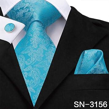 IG Corbata de moda Sn-3125 Corbata 8.5Cm Seda Hombres Corbata ...