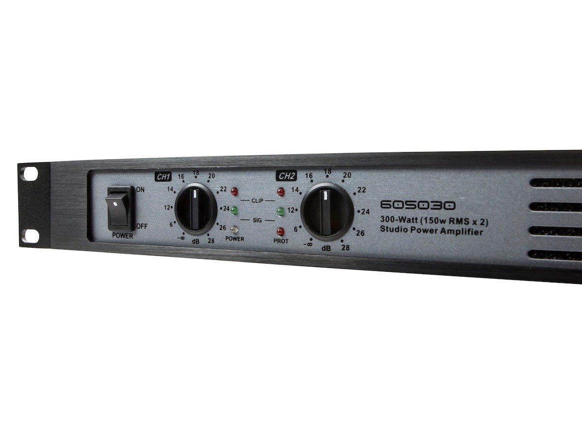 Monoprice 300 Watt 150w Rms X2 Studio Audio Amplifier Collection Scheme Power High Mosfets 605030 Electronics