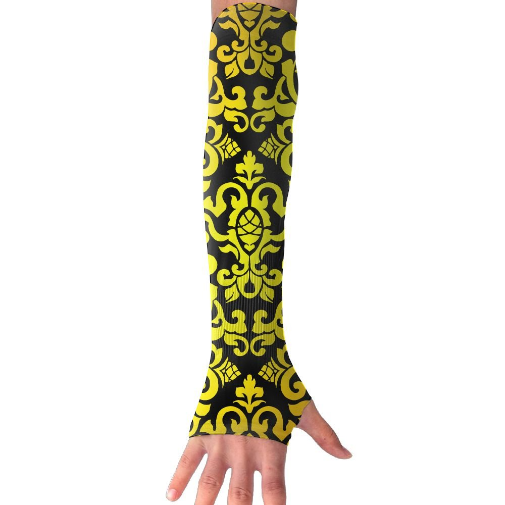 YU TING COOL Half Finger UV Protection Sports Compression Arm Sleeve Sun-proof Cuffs For Athletic
