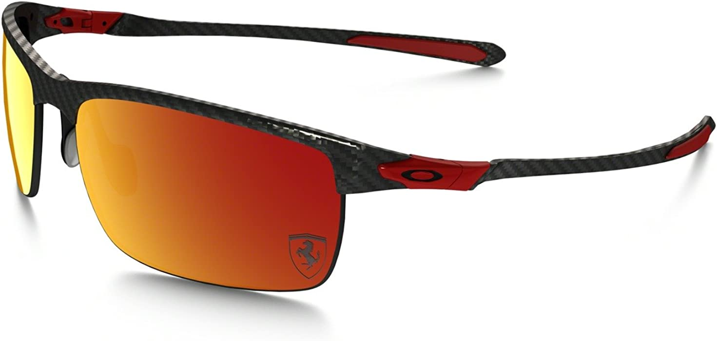dd0b41f073 Amazon.com  Oakley Mens Ferrari Carbon Blade Sunglasses