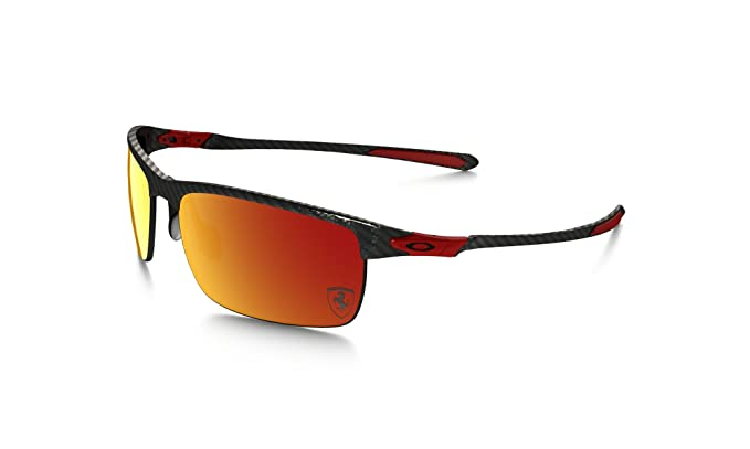 b2f8871f7b Amazon.com  Oakley Mens Ferrari Carbon Blade Sunglasses