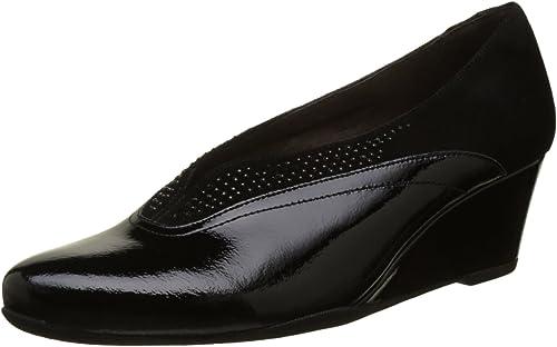TALLA 37 EU. Stonefly Emily 5 Napl/G Suede, Zapatos con Plataforma para Mujer