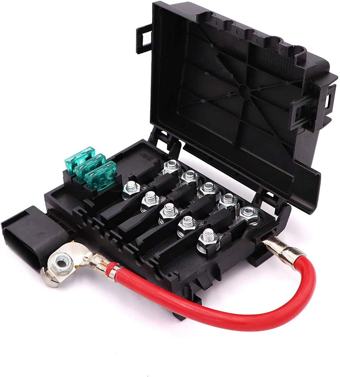 Amazon.com: Fuse Box Battery Terminal For VW Beetle Golf Bora Jetta 2.0  1.9TDI 1J0937550A or 1J0937550B: Automotive | Battery Fuse Box On Vw Bugs |  | Amazon.com