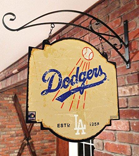 Winning Streak MLB Los Angeles Dodgers Men's Tavern Sign, Large, (Dodgers Street Sign)