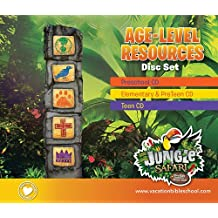 Age-Level Resources Disc Set (Vacation Bible School (VBS) 2014: Jungle Safari—Where Kids Explore the Nature of)