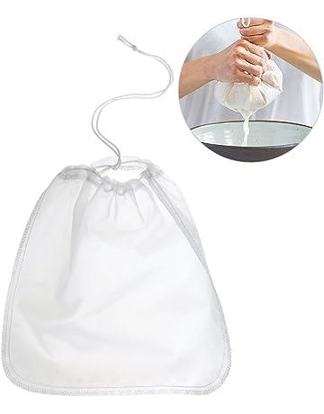 200μm Nut milk bag,OUNONA bolsa para hacer leches vegetales,bolsa para hacer queso