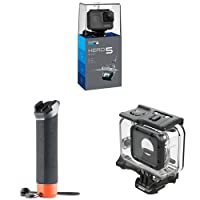 GoPro HERO5 Black Videocamera Subacquea 4K + Super Suit Custodia da immersione + Impugnatura galleggiante