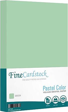Menu Size 50 Per Pack Size 8.5 X 14 Legal Color Paper 20lb Pastel Green