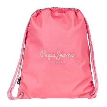 Pepe Jeans Plain Color Mochila Tipo Casual, 1.54 litros, Color Rosa: Amazon.es: Equipaje