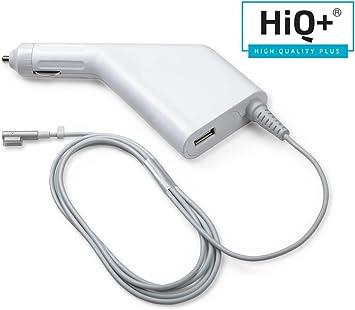 HiQ+ 60 W Cargador para Coche Compatible con MacBook Pro Retina 13 ...