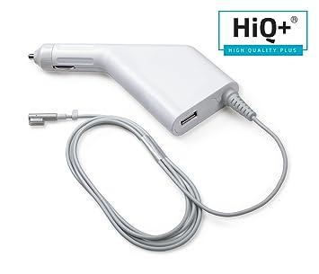 HiQ+ 60 W Cargador para Coche Compatible con MacBook Pro ...