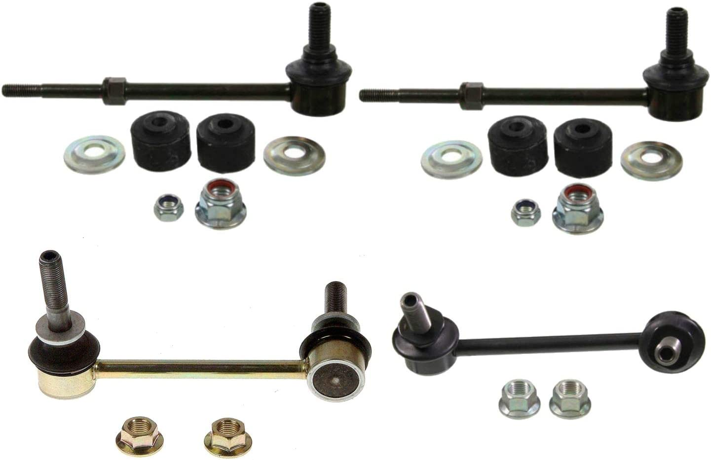 2 Rear Sway Bar End Links for Lexus GX470 and Toyota 4Runner New 4pc 2 Front