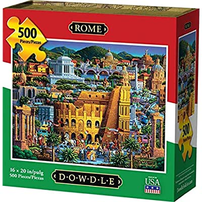 Dowdle Jigsaw Puzzle - Rome - 500 Piece: Toys & Games