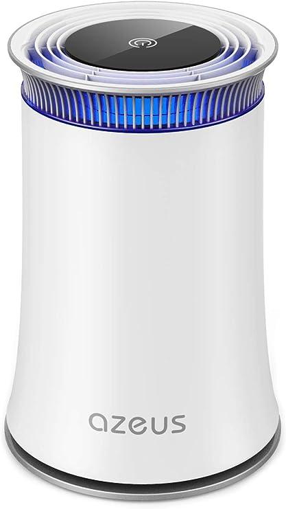 Purificador de aire AZEUS, purificador de aire con filtro HEPA ...