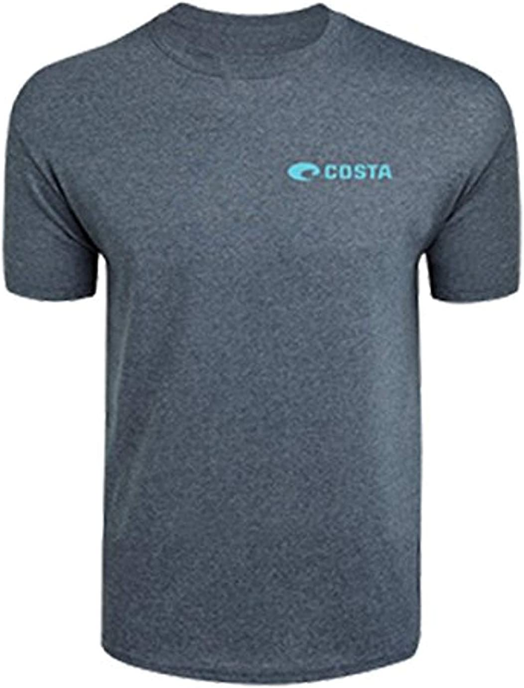 Costa Del Mar Men's Topwater Tee Gray