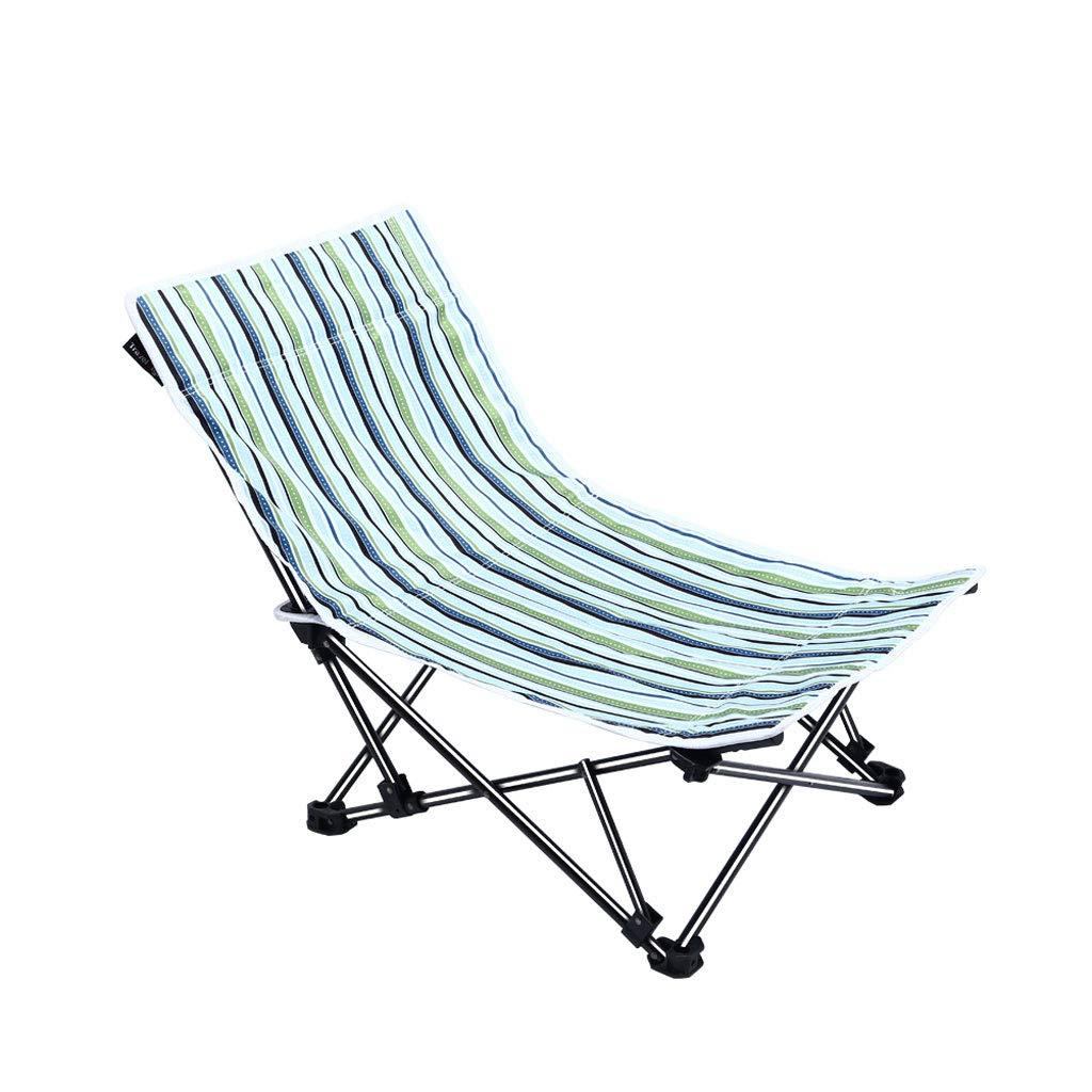 Fzw Sedia reclinabile Regolabile con Struttura in Acciaio (colore   verde, Dimensioni   51  51  60cm)