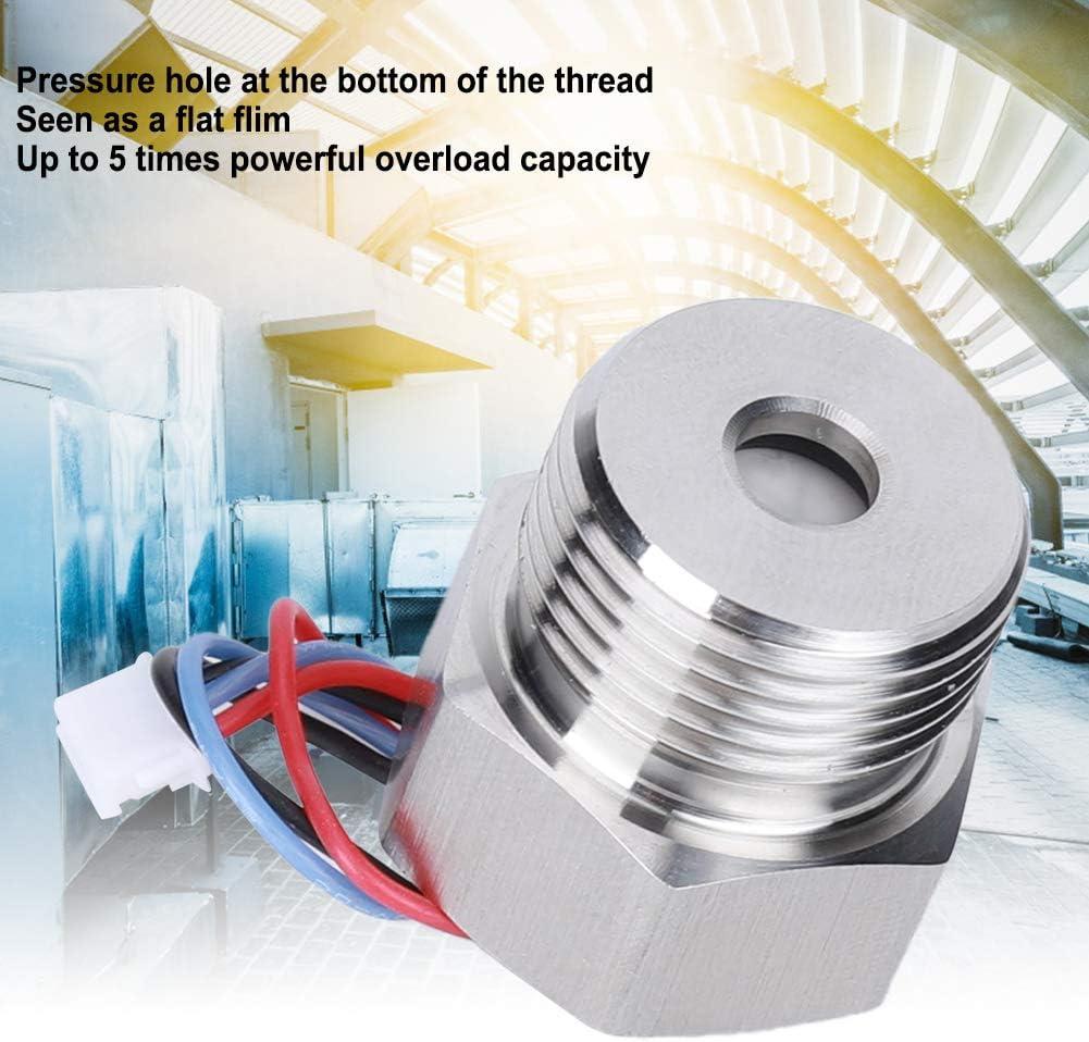 Flat Pipe Bathroom Hardware 5VDC Made of Stainless Steel 2ms Response Time Pressure transmitter