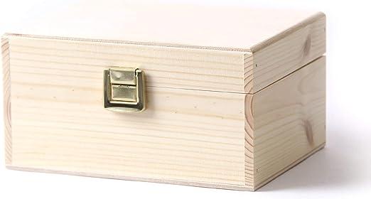 Mystic Moments Caja de Regalo de aromaterapia de Madera (vacía ...