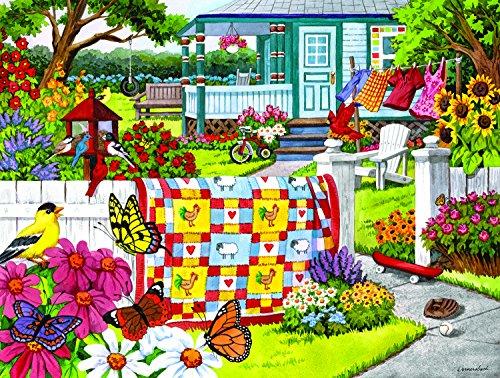 SunsOut Serene Summer 300 Piece Jigsaw Puzzle