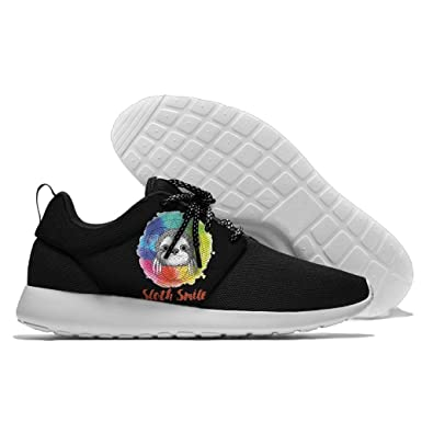 Men's Running Rainbow Color Shoes Fashion Breathable Sneakers Mesh Soft Sole Casual Athletic Lightweight