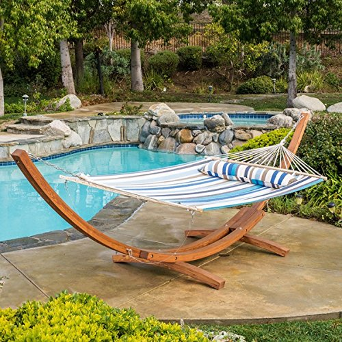 Christopher Knight Home Grand Cayman Multi Blue Stripe Hammock