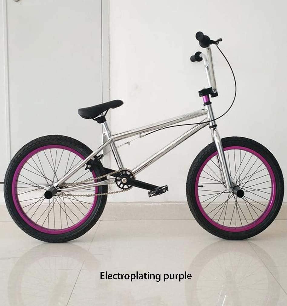 AISHFP Mini Bici de BMX, Principiante Nivel para Jinetes avanzados BMX Carrera de Bicicletas, Marco de Acero Ligero de Alto Contenido de Carbono, 16-20 Pulgadas, Llantas, Usted Elija