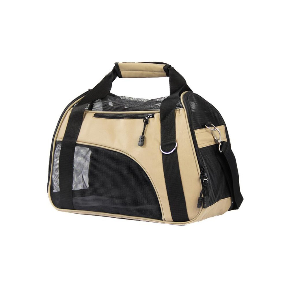 Beige DALL Carriers—— FS-781 Strong Wear Resistance Cats And Dogs Pet Package Pet Carrier Travel Bags Steady And Portable Resistant To Dirt (color   Beige)