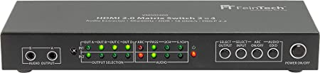 Feintech Vms02400 Hdmi 2 0 Matrix Switch Splitter 2 Elektronik