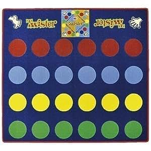 "GamePoint ""Twister"" - Juego de alfombra (aprox. 135 x 145 cm)"