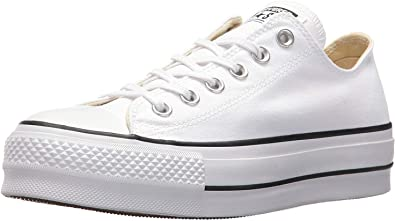 pizarra Asimilar Odiseo  Converse Chuck Taylor CTAS Lift Ox Canvas, Zapatillas Mujer: MainApps:  Amazon.es: Zapatos y complementos