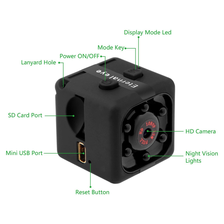 Mini Spy Cam Eternal eye Mini DV Hidden Camera 1080P Full HD Portable Small Nano
