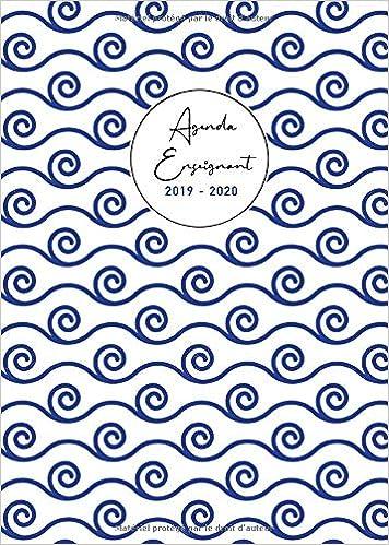Agenda Enseignant 2019 2020: Grand Format A4 | Lagenda du ...