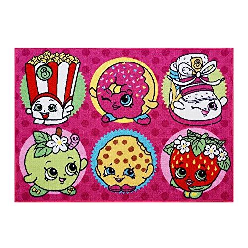 Gertmenian Shopkins Bedding Cupcake Multicolor