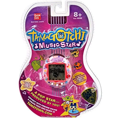 Tamagotchi Music Star V6 Exclusive Pink Lullaby Virtual Pet Chic